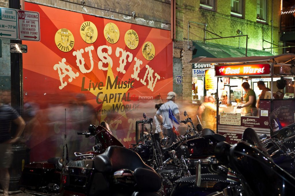 """With live music happening in every corner, Austin is not called """"Live Music Capital of the World"""" for nothing!"""